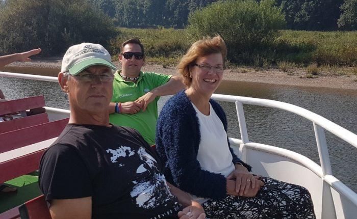 Maarten en Marleen op campertraining