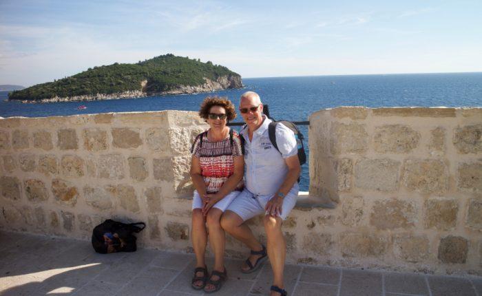 Yvonne en Jan in Kroatie