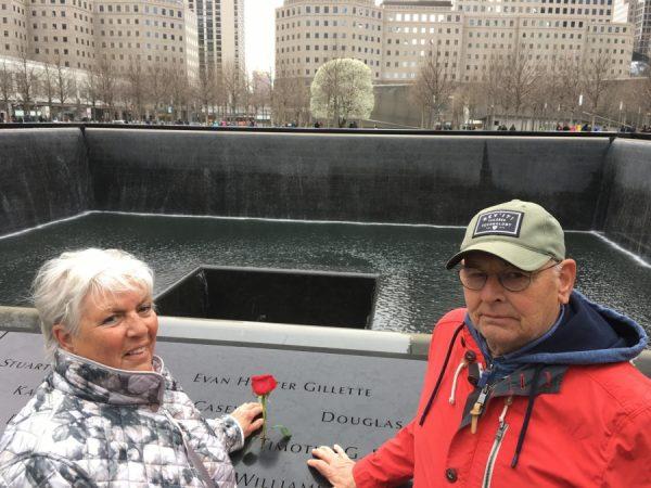 Jan en Elly in Amerika