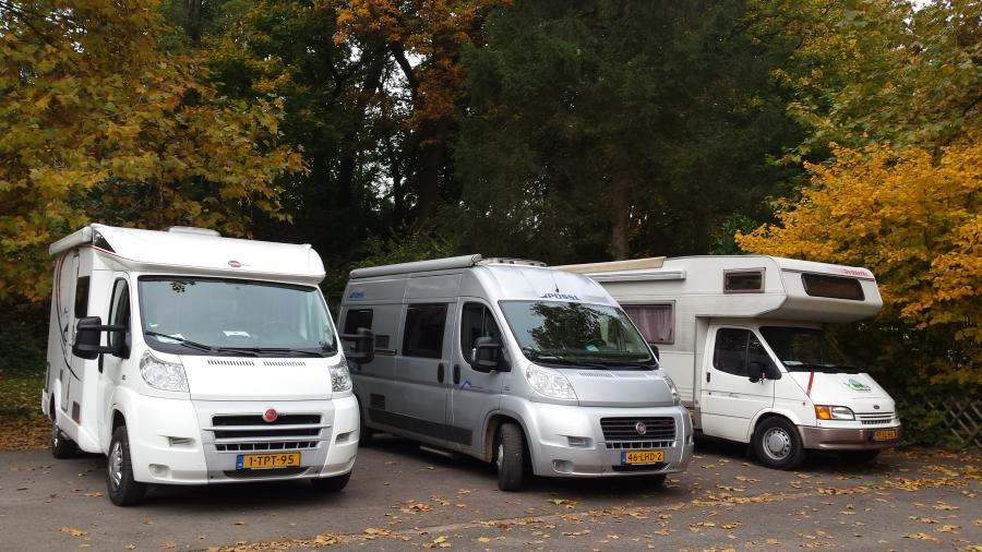 Egbert en Ammy op campertraining