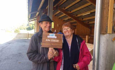 Nico en Gerda op campertraining
