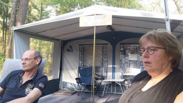 Franca en Gerard in Drenthe