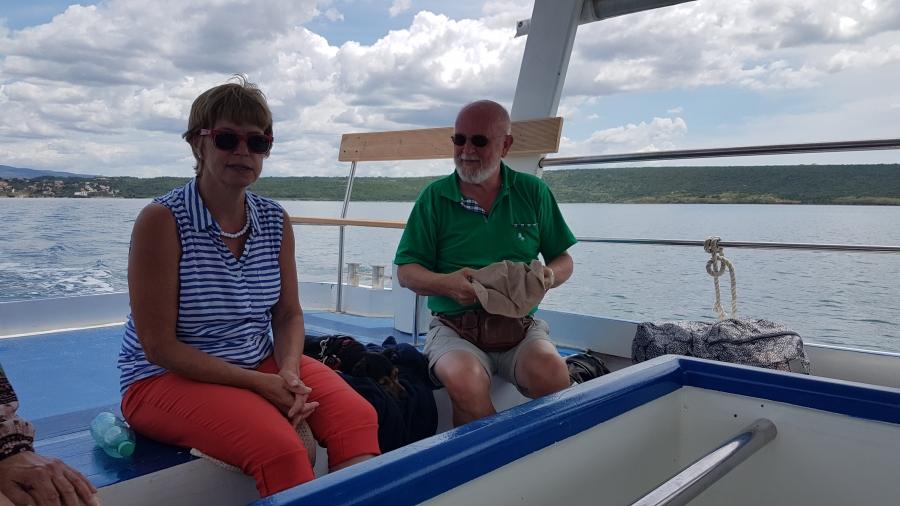 Bert en Willemein in Kroatie