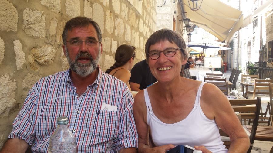 Frans en Els in Kroatie
