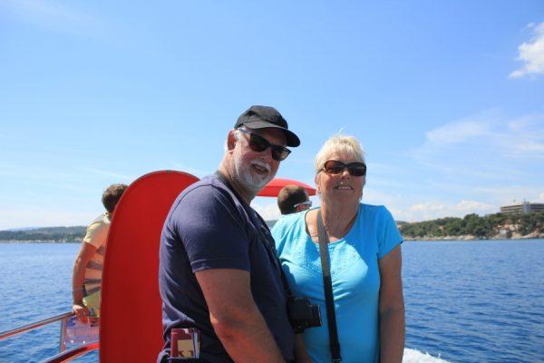 Kees en Marth in Kroatie