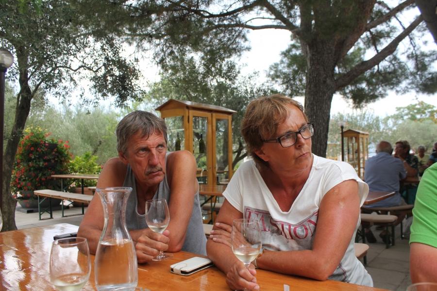 Sjaak en Loes in Kroatie