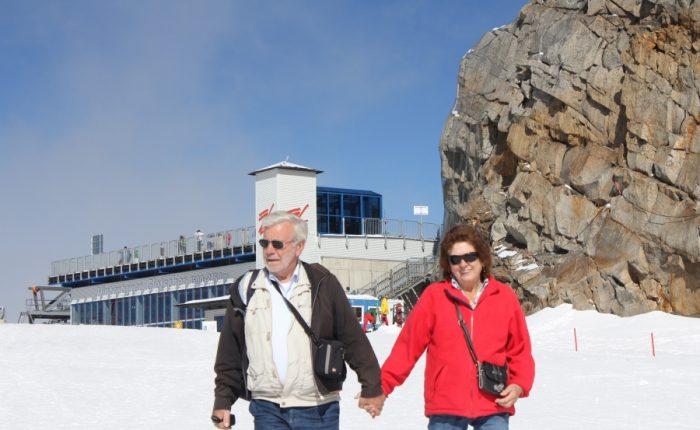 Henk, Gudie en Kaijser in Oostenrijk