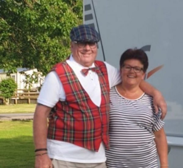 Dick en Wilma in Scholand