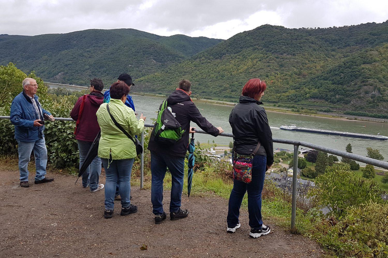 Camperreis Duitsland - uitzicht op Bacharach am Rhein
