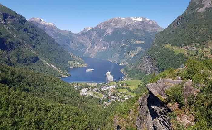 Camperreis Noorwegen Geirangerfjord