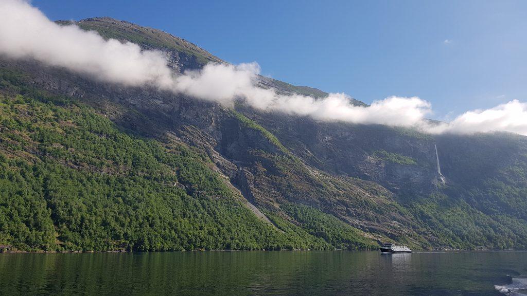 Camperreis Noorwegen Geiranger boottocht