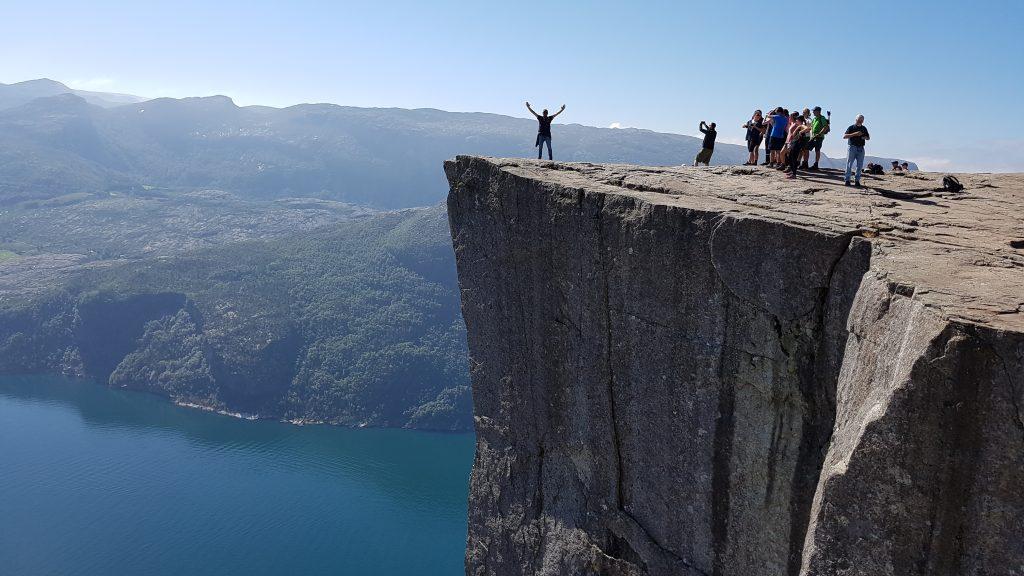 Camperreis Noorwegen Preikestolen