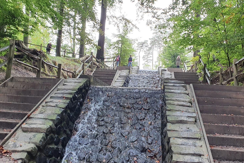 Camperreis voor beginners - Loenense waterval