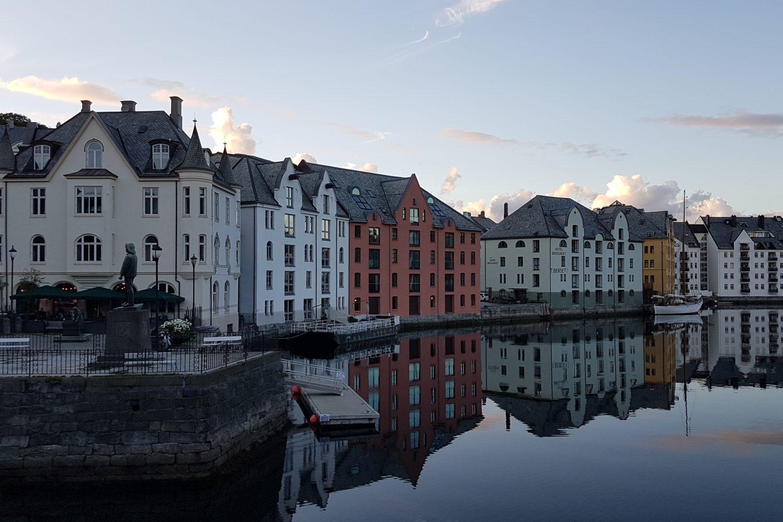 Camperreis Noorwegen - Ålesund