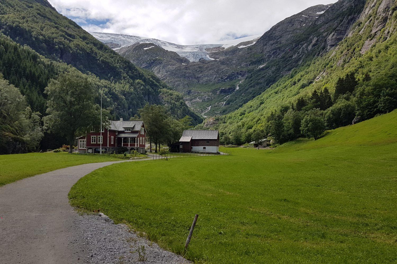 Camperreis Noorwegen - Buarbreen