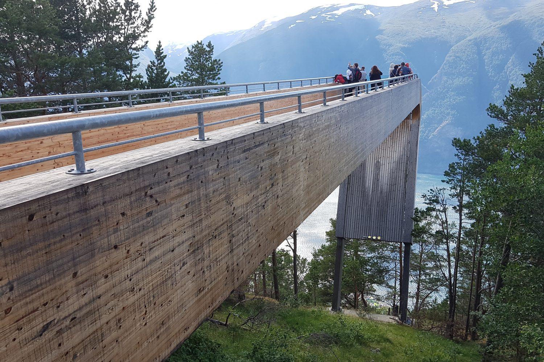 Camperreis Noorwegen - Stegastein