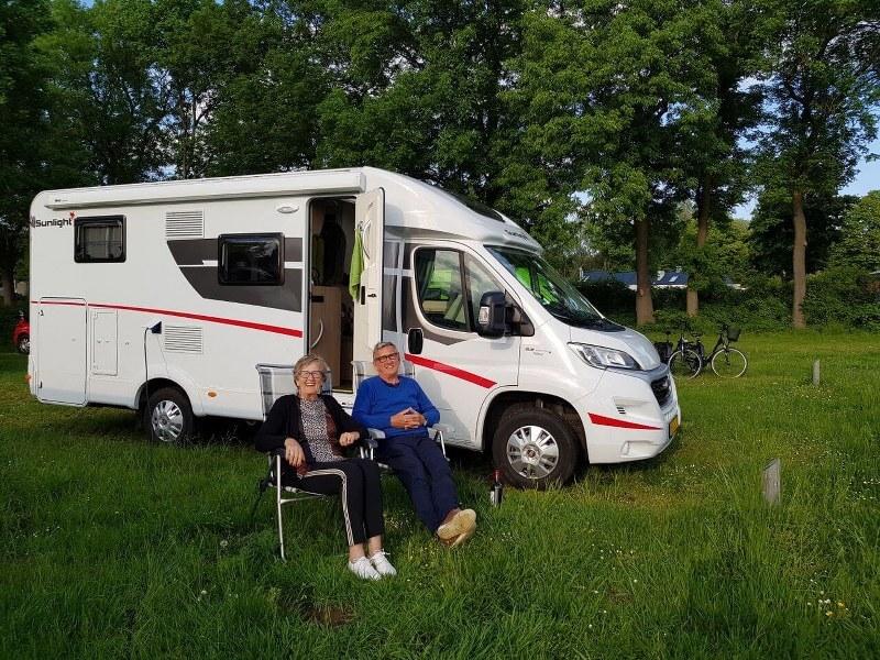 Genieten van een welverdiende camper vakantie