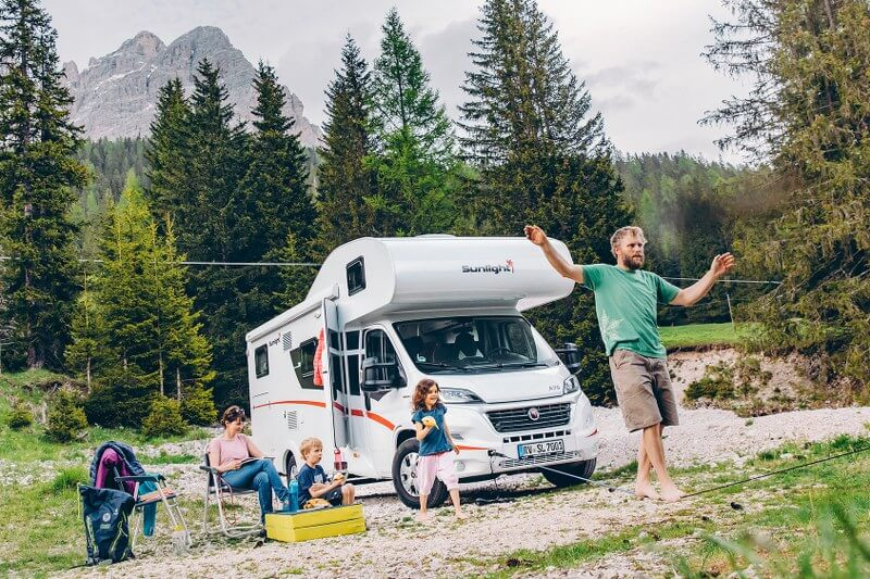Mooie ruime familie camper tot 6 personen